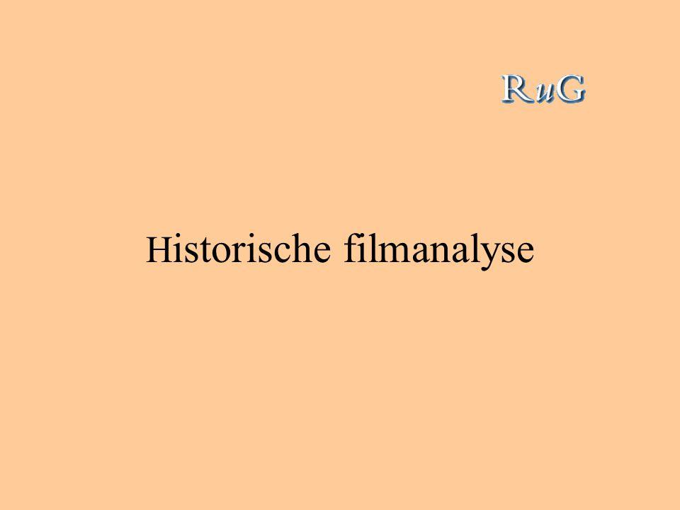 H istorische filmanalyse