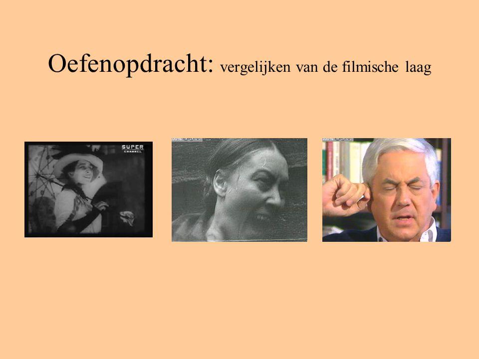Oefenopdracht: vergelijken van de filmische laag