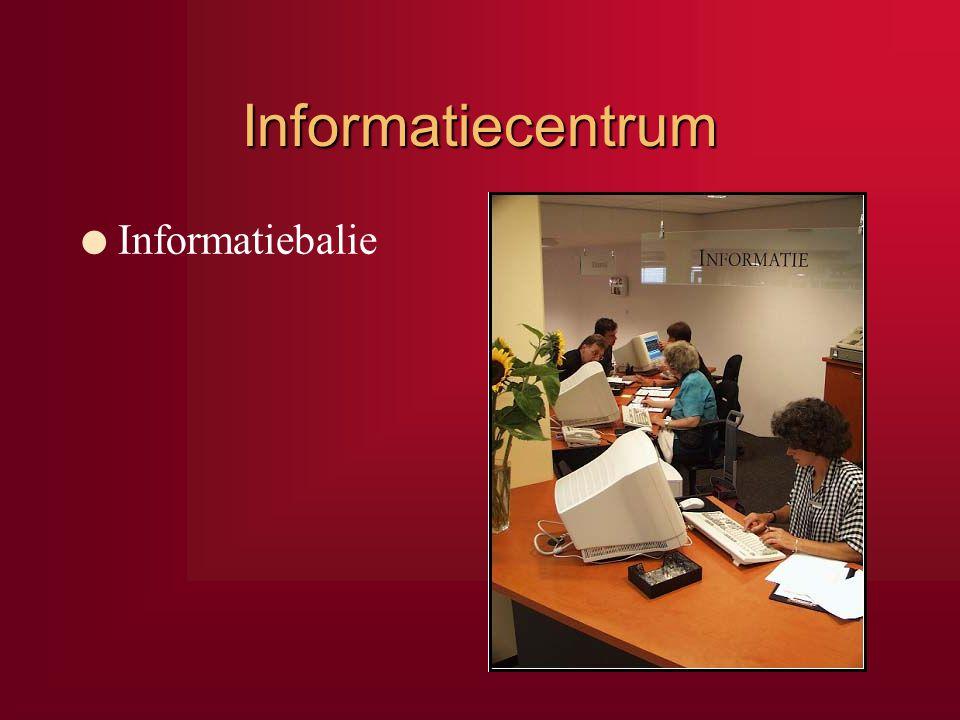 Informatiecentrum l Informatiebalie