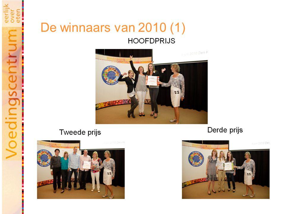 De winnaars van 2010 (1)
