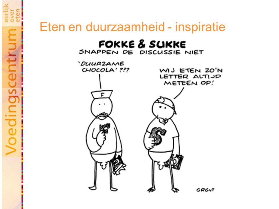 Eten en duurzaamheid - inspiratie
