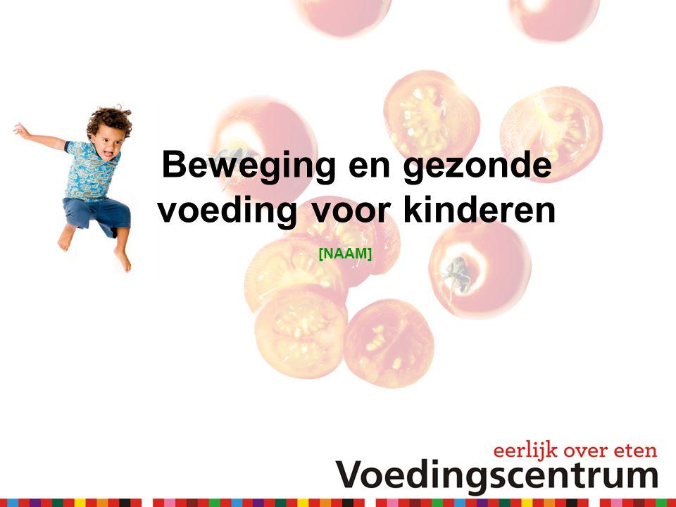 Beweging en gezonde voeding voor kinderen [NAAM]