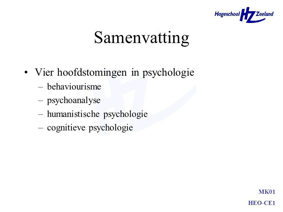 Situationele factoren –aankoopredenen –fysieke omgeving –sociale omgeving –tijddimensie –toevalligheden MK01 HEO-CE1 Persoonlijke omstandigheden
