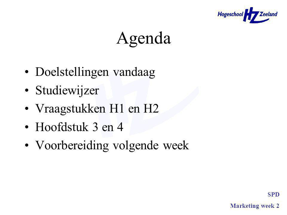 Oplossen bepaald probleem Definitie probleem Informatiebehoefte Desk research Field research go-no-go beslissing SPD Marketing week 2