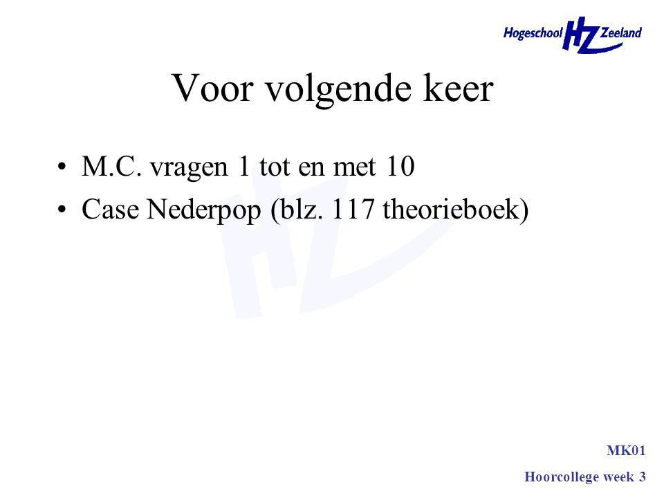 Vragen MK01 HEO-CE1