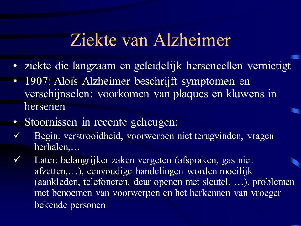 Is dementie erfelijk.