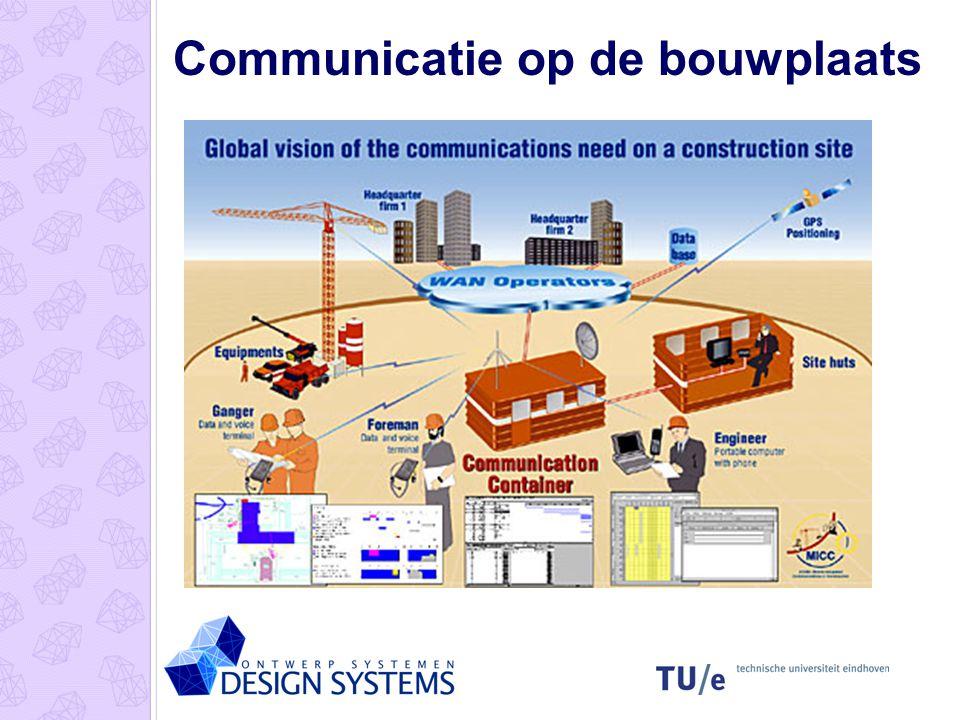 Communicatie op de bouwplaats