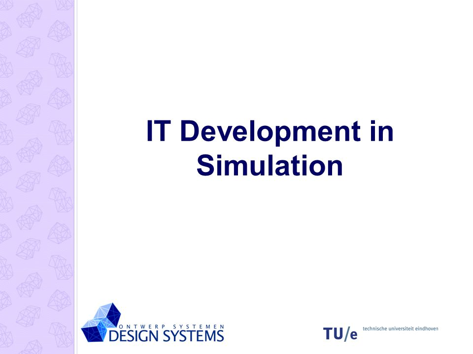 IT Development in Simulation