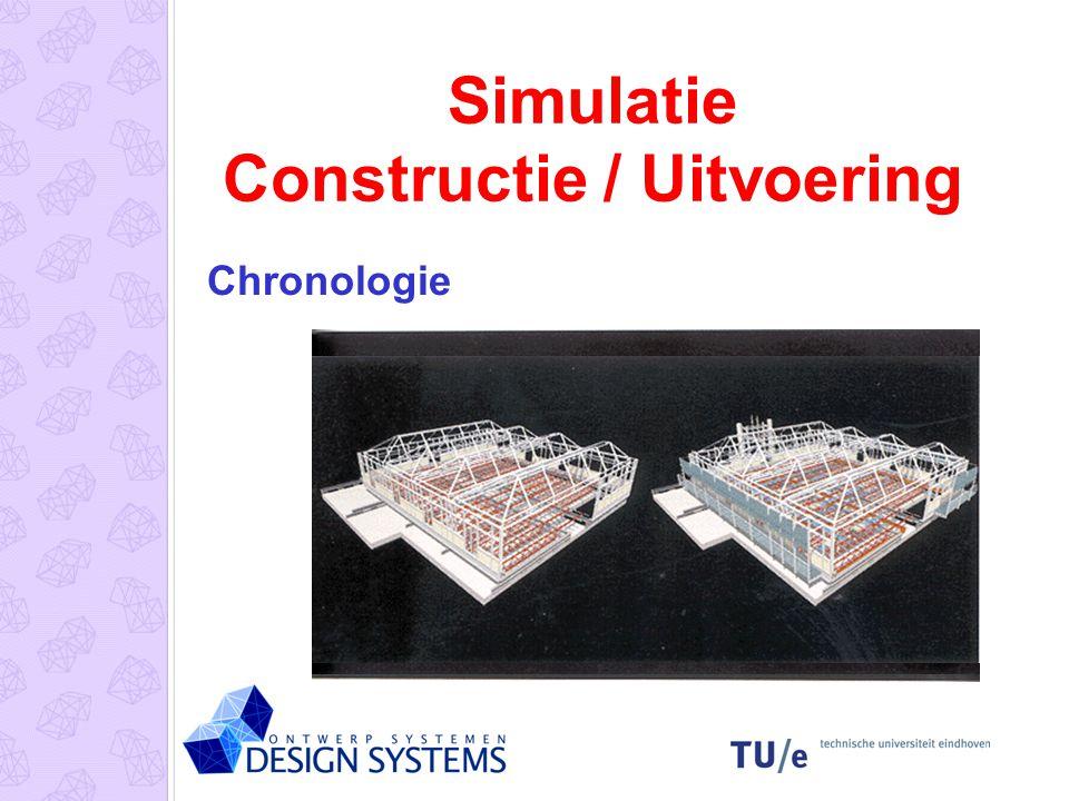Simulatie Constructie / Uitvoering Chronologie
