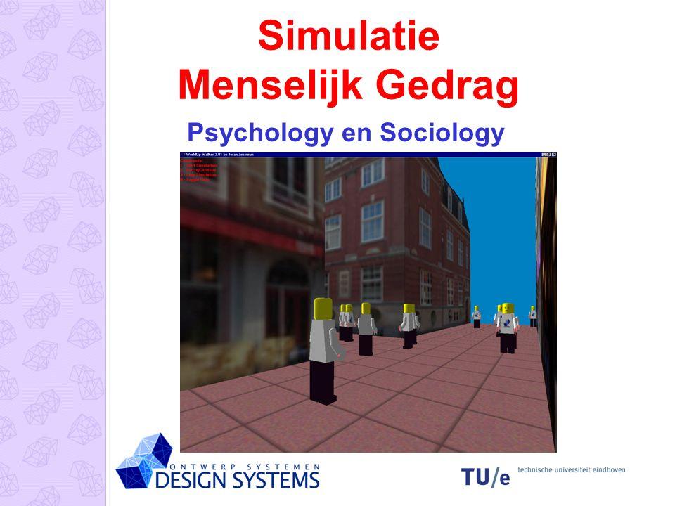 Simulatie Menselijk Gedrag Psychology en Sociology