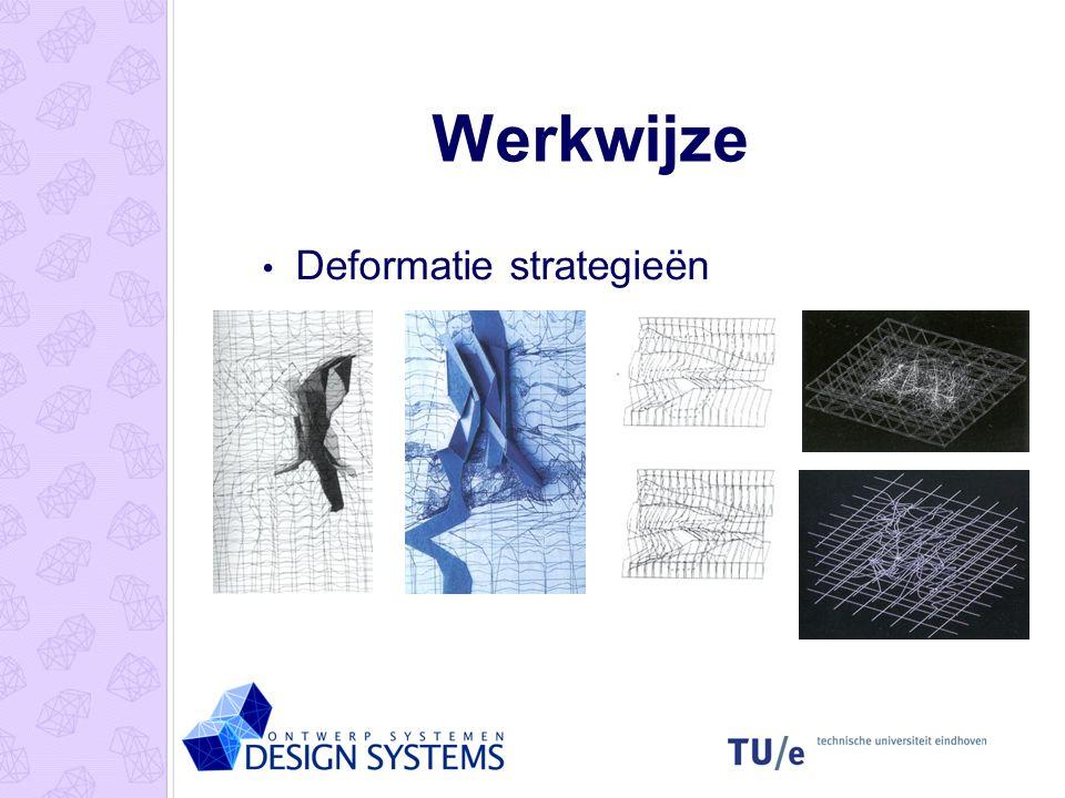 Werkwijze Deformatie strategieën
