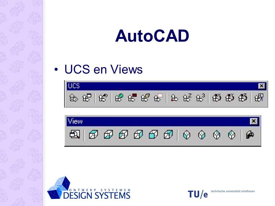 AutoCAD UCS en Views