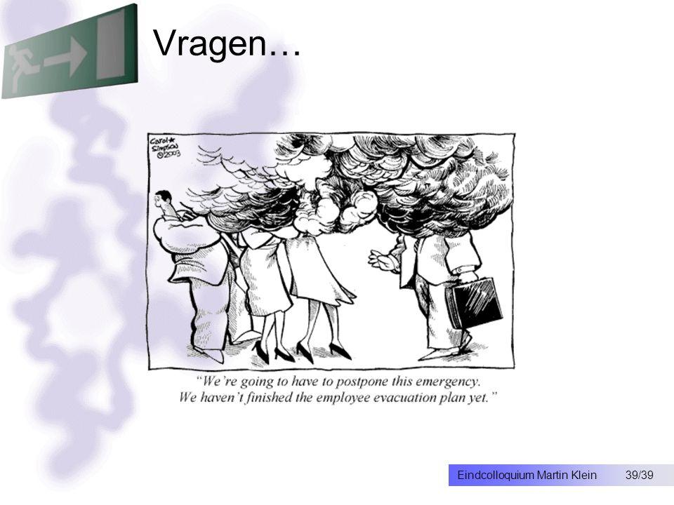 39/39Eindcolloquium Martin Klein Vragen…