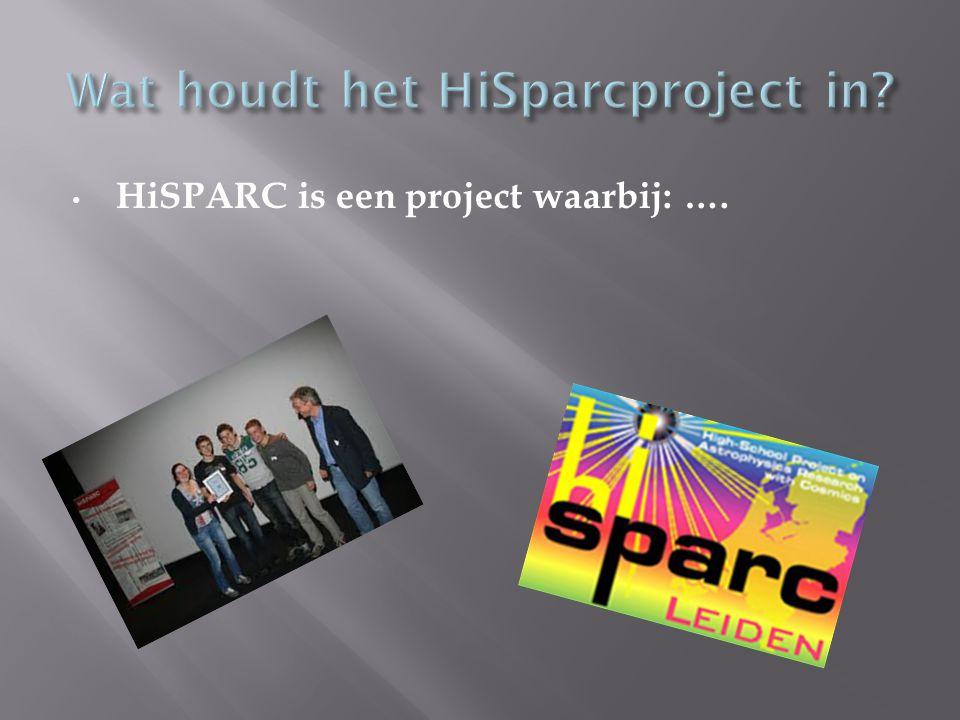 HiSPARC is een project waarbij: ….