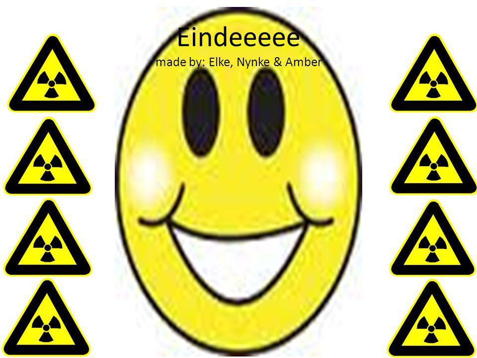 Eindeeeee made by: Elke, Nynke & Amber
