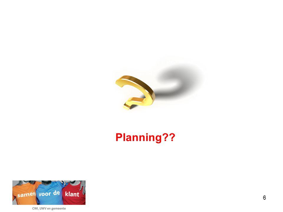6 Planning??