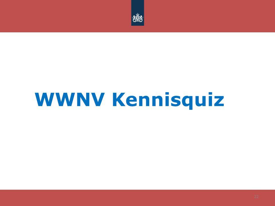WWNV Kennisquiz 22