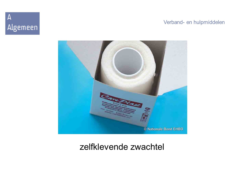 zelfklevende zwachtel Verband- en hulpmiddelen