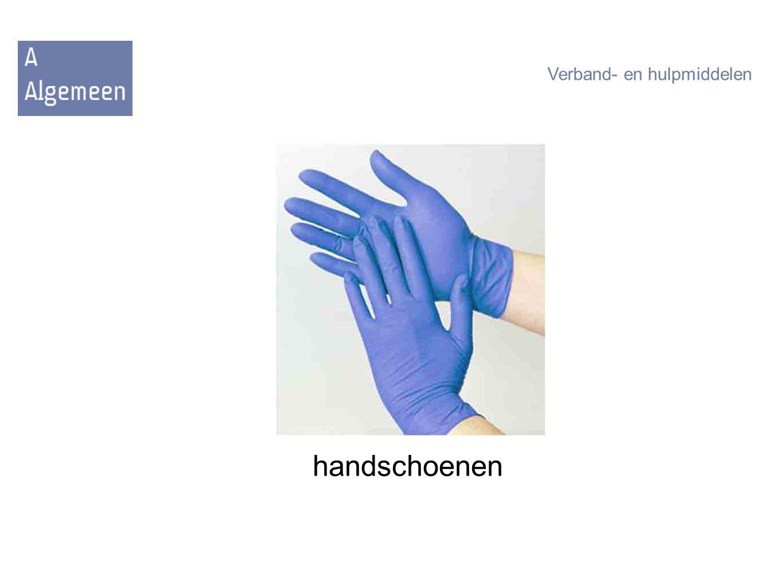 handschoenen Verband- en hulpmiddelen