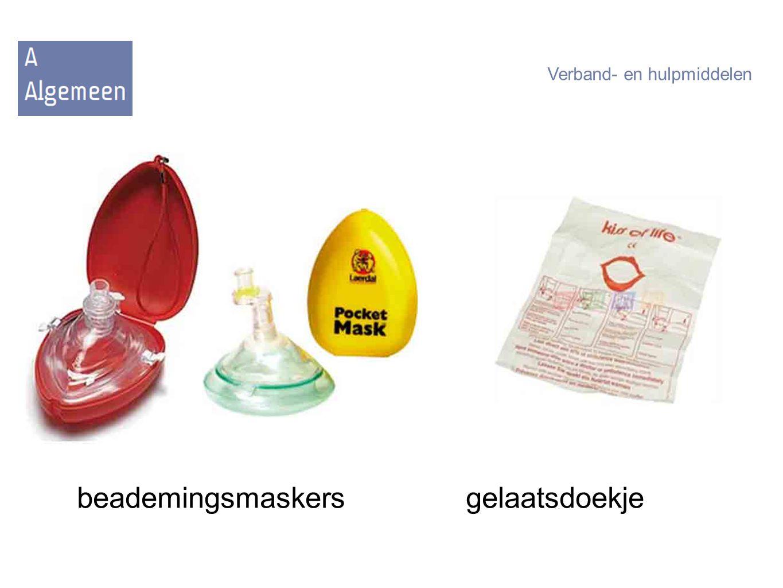 beademingsmaskersgelaatsdoekje Verband- en hulpmiddelen
