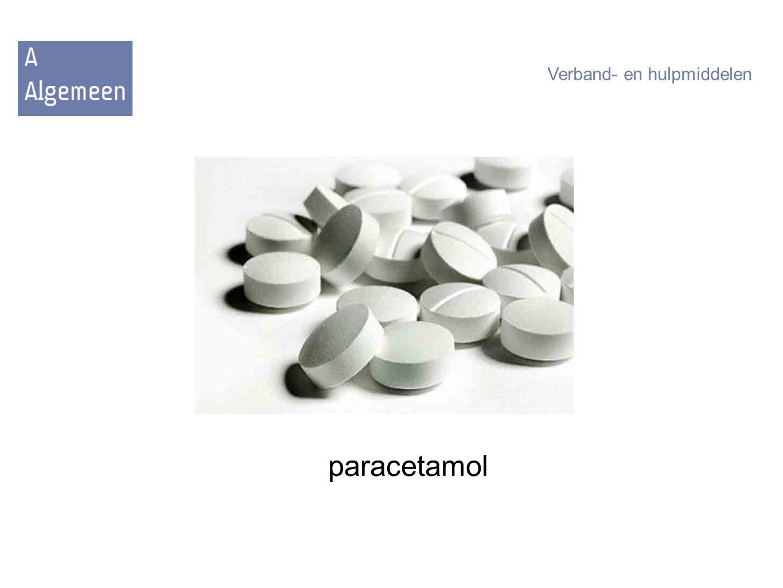 paracetamol Verband- en hulpmiddelen
