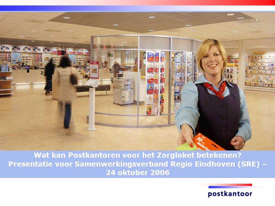 Wat kan Postkantoren voor het Zorgloket betekenen.