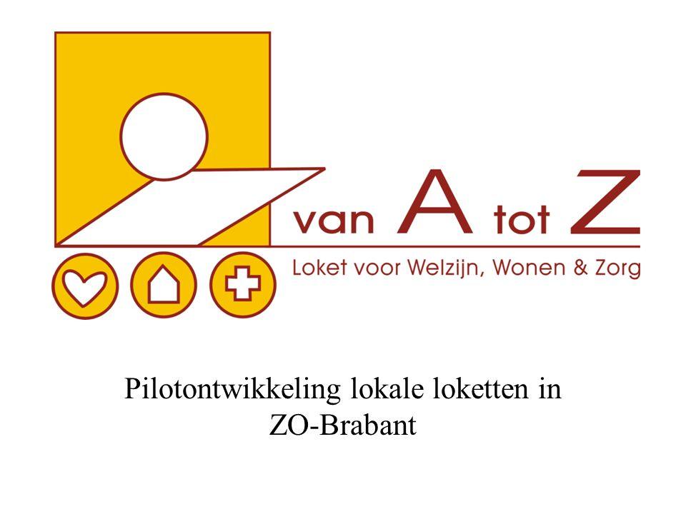 Pilotontwikkeling lokale loketten in ZO-Brabant