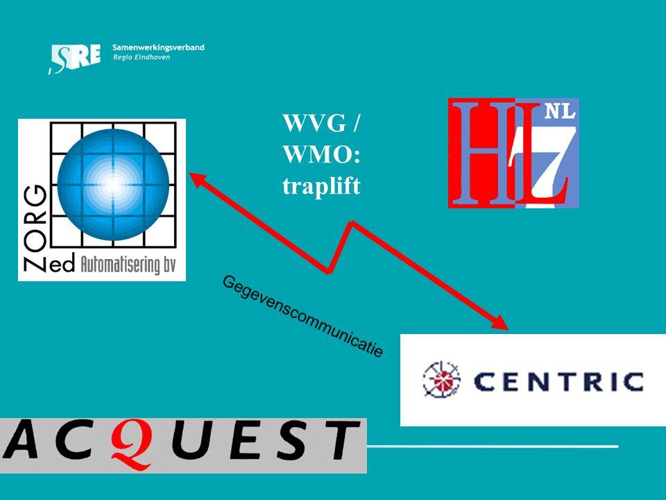 Gegevenscommunicatie WVG / WMO: traplift