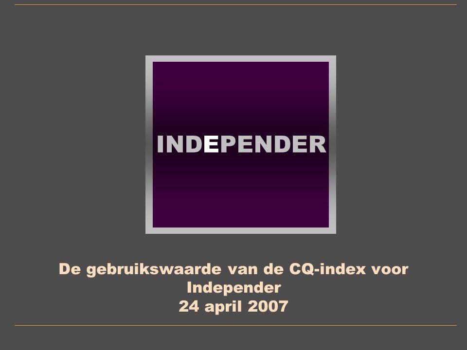 INDEPENDER 11 Contact mvanos@independer.nl 06-29534568 Mieke van Os Independer.nl Snelliuslaan 10 1222 TE Hilversum