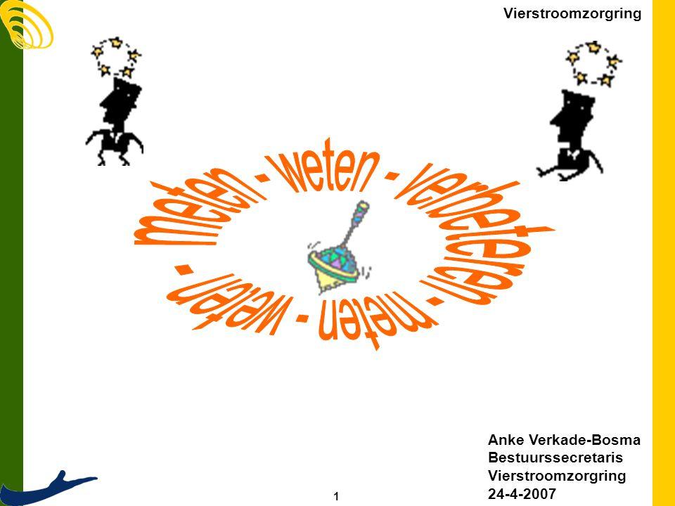 1 Vierstroomzorgring Anke Verkade-Bosma Bestuurssecretaris Vierstroomzorgring 24-4-2007