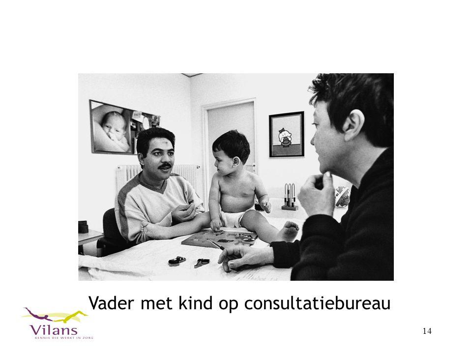 14 Vader met kind op consultatiebureau