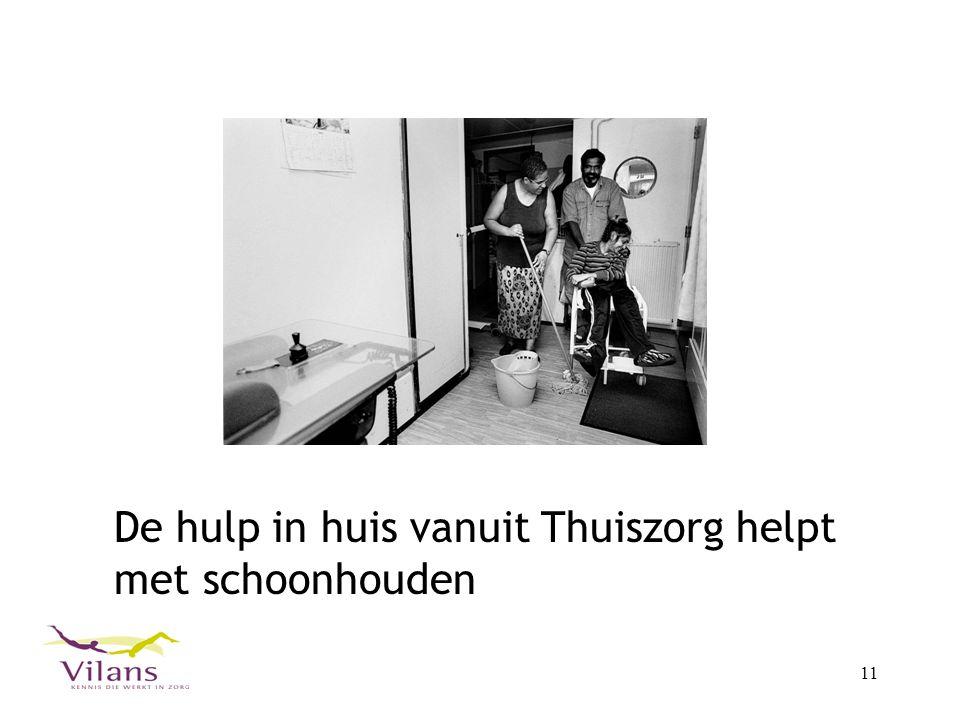 11 De hulp in huis vanuit Thuiszorg helpt met schoonhouden