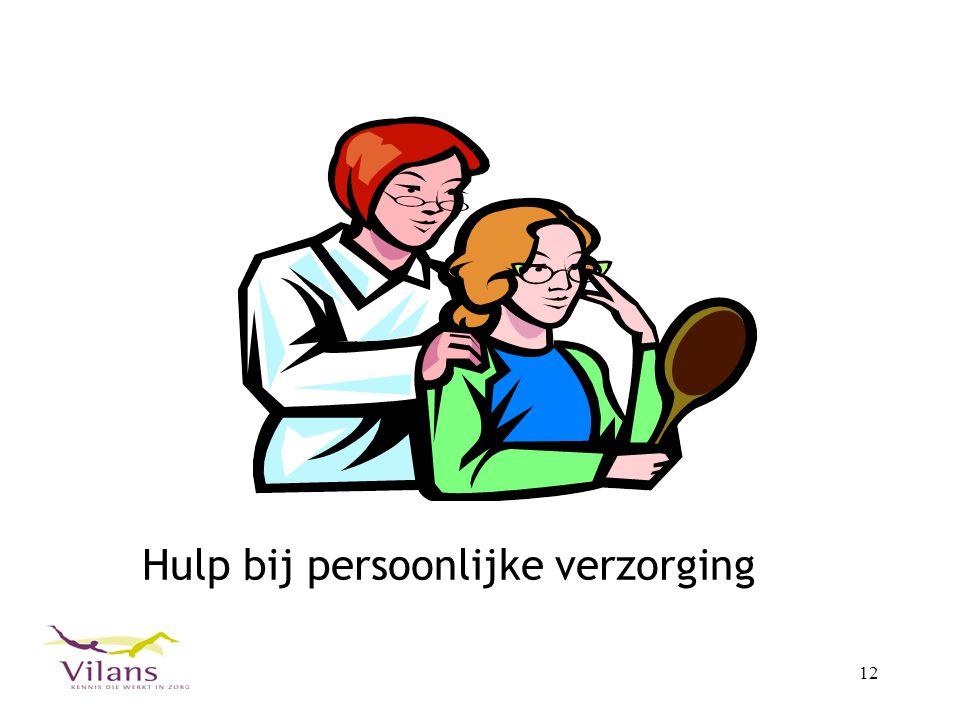 12 Hulp bij persoonlijke verzorging