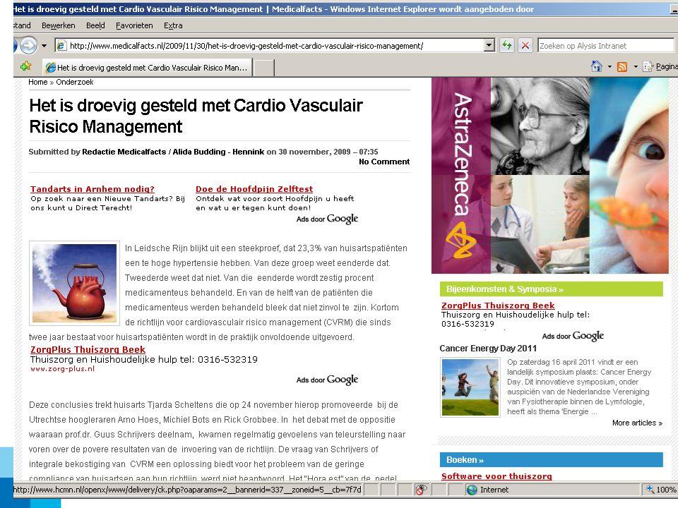Voorbeeld uit de praktijk http://www.youtube.com/watch?v=SHvC08KI8H4