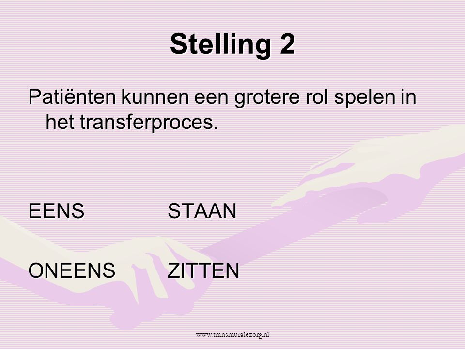 Vraag Wat zou u op het paasvuur gooien? www.transmuralezorg.nl