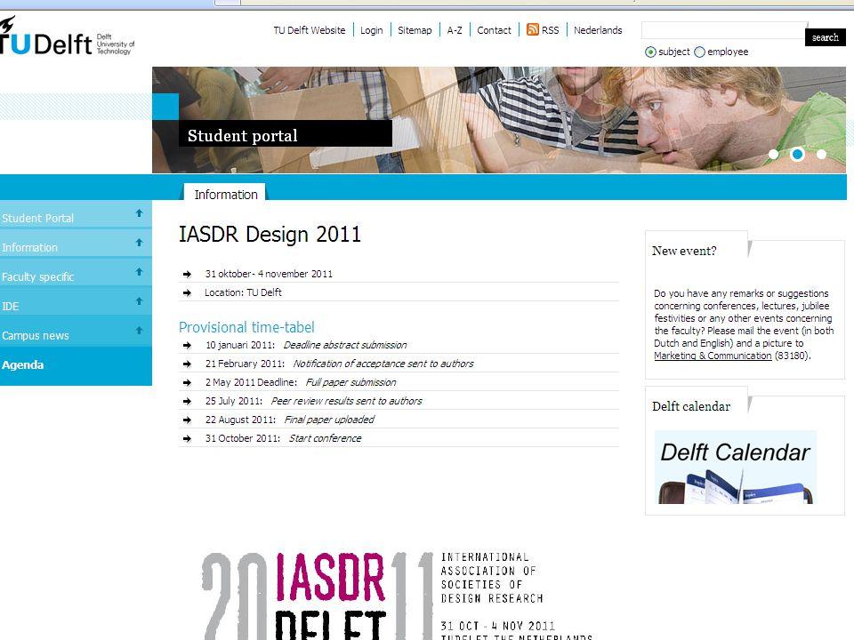 IO2041: specialisatieproject Netwerk Ontwerpdidactiek ' good practice ' lunchlezing Erik Tempelman, 15.09.2010