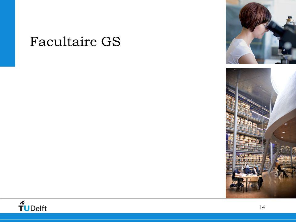 14 Facultaire GS