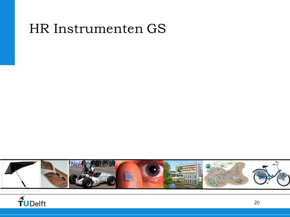 20 HR Instrumenten GS