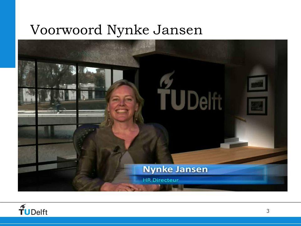3 Voorwoord Nynke Jansen