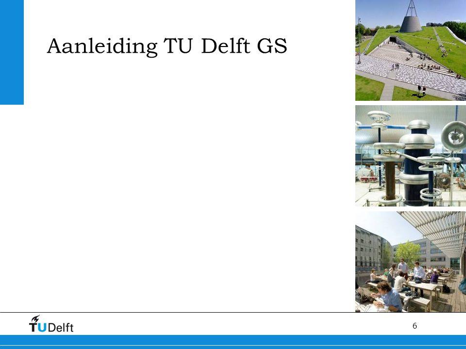 6 Aanleiding TU Delft GS