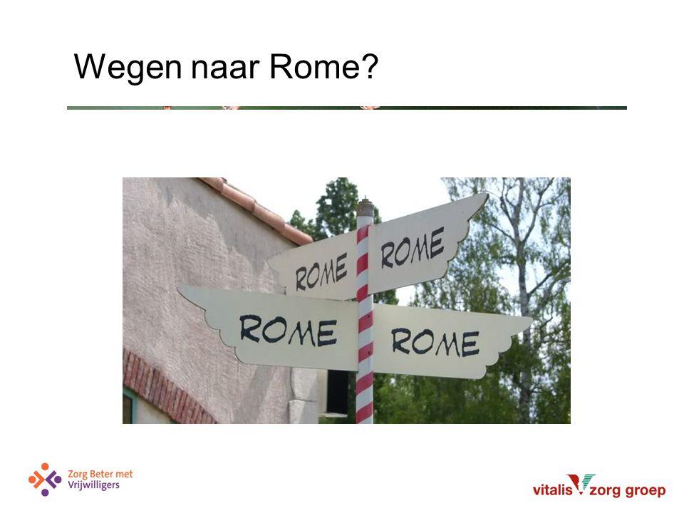 Wegen naar Rome