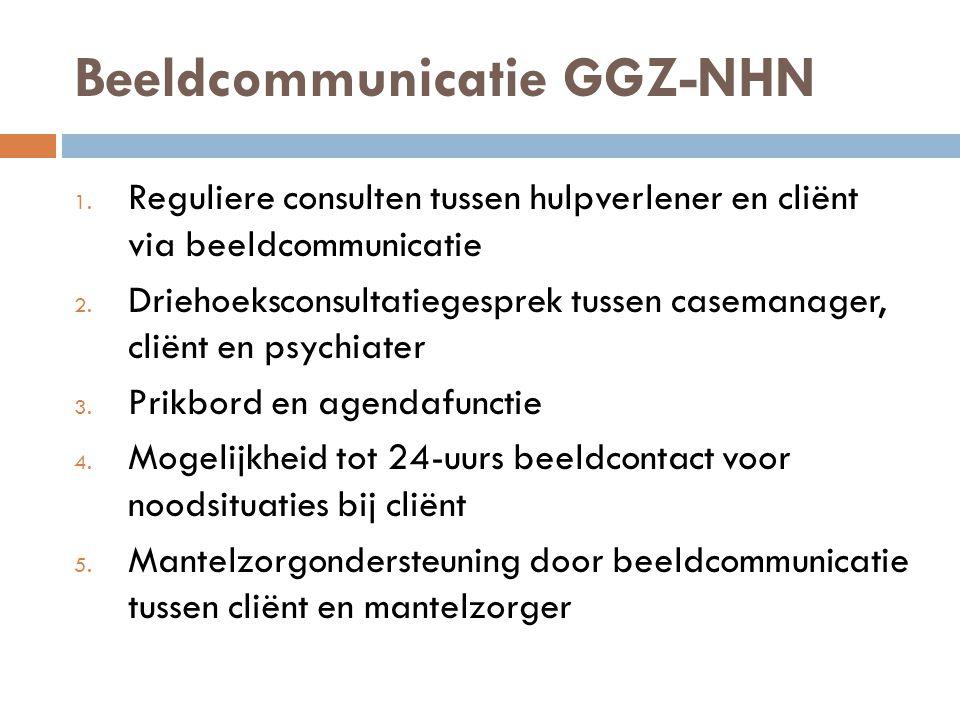 Beeldcommunicatie GGZ-NHN 1.