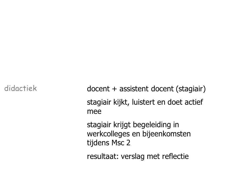 meerdere kleine en een grotere ontwerpopdracht onderzoeken en expliciteren ontwerpproces resultaat: ontwerpen en reflectie ontwerpproces ontwerpen