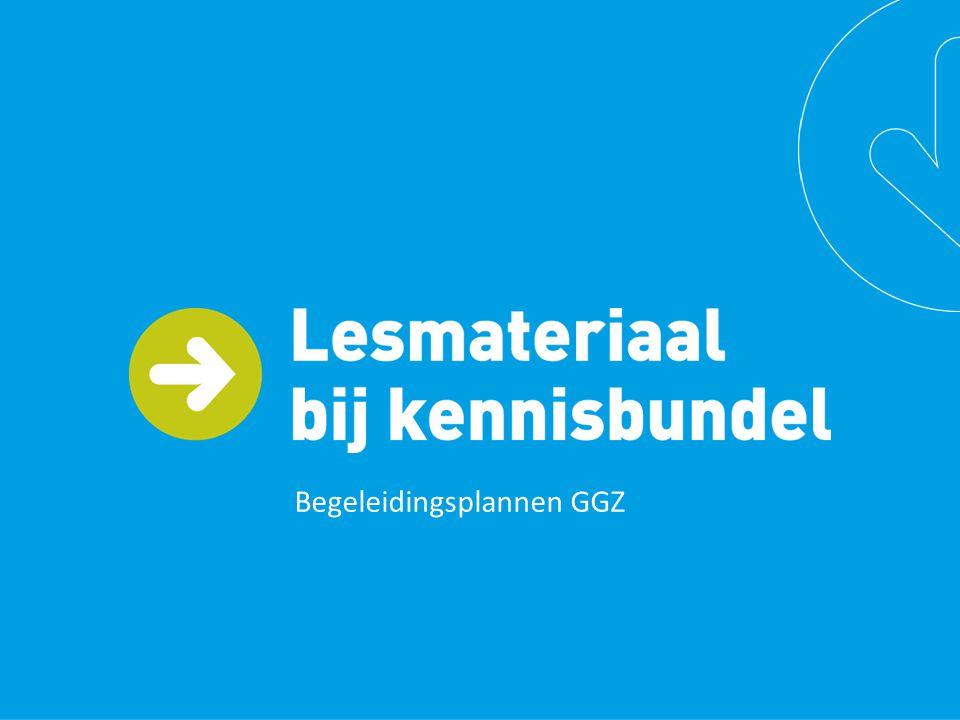 Instrument voor persoonsgerichte ondersteuning Het begeleidingsplan is bedoeld om: persoonsgericht werken te bevorderen de eigen regie van cliënten te vergroten.