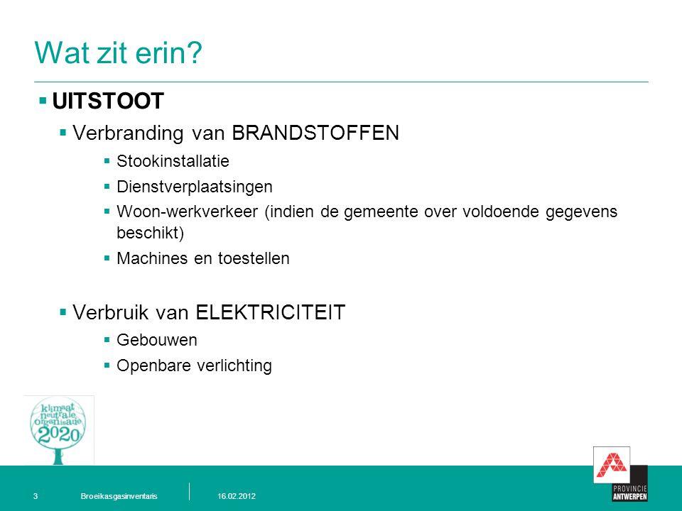Broeikasgasinventaris16.02.20123 Wat zit erin.