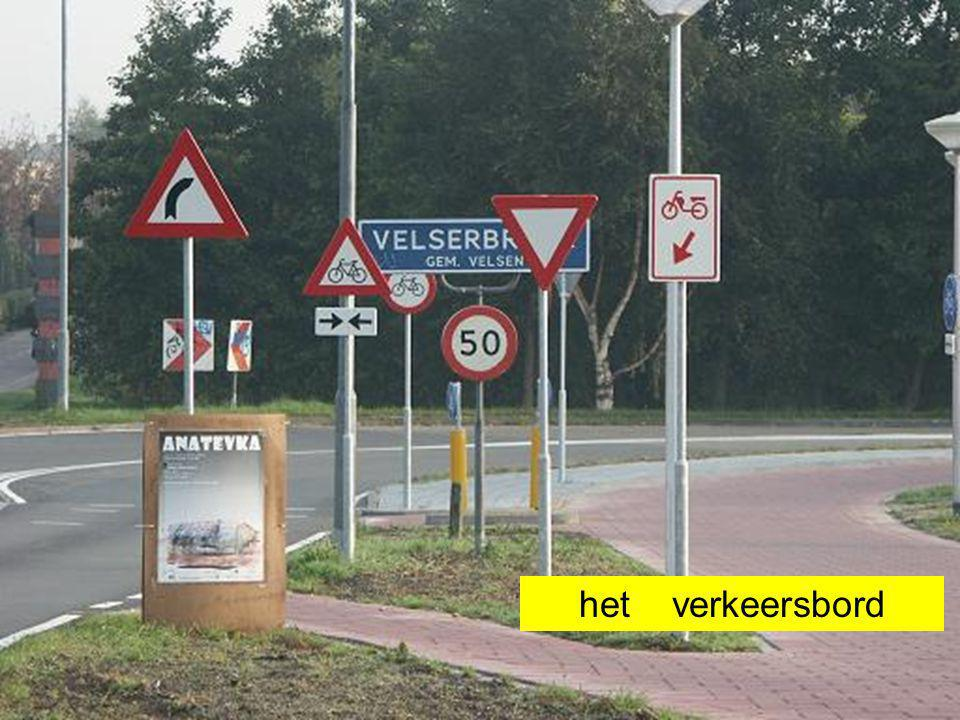 het verkeersbord