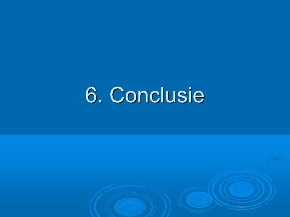6. Conclusie