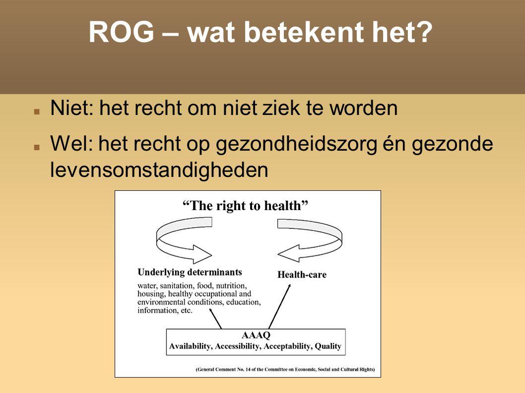 ROG – wat betekent het.