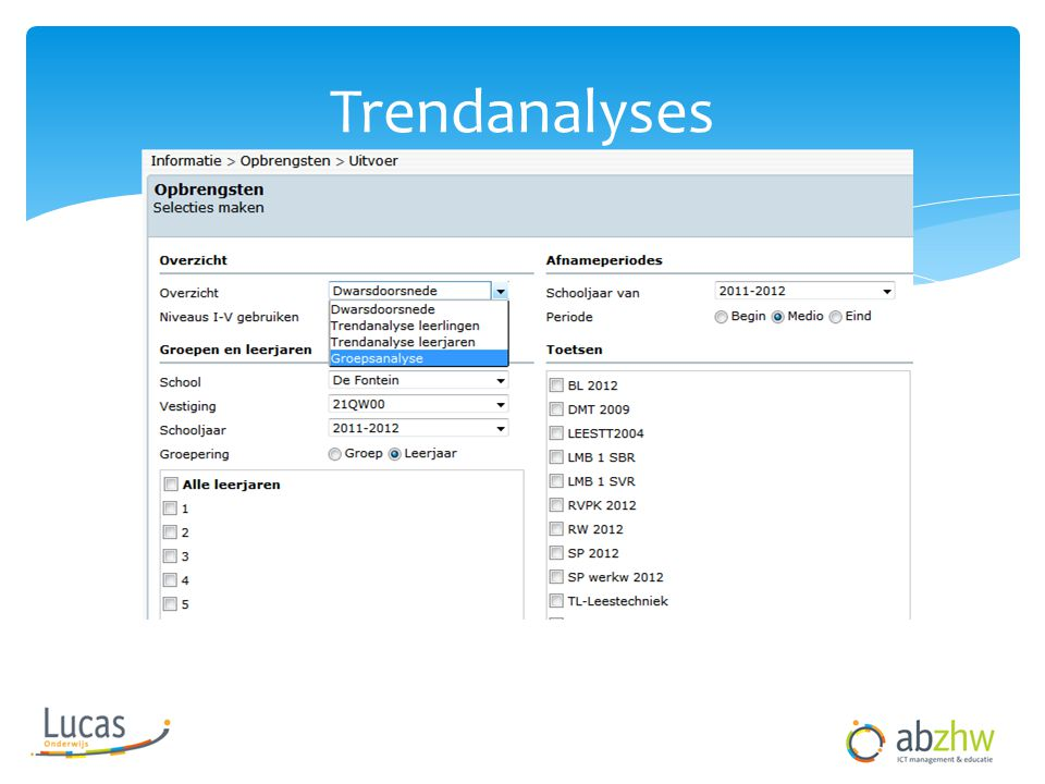 Trendanalyses