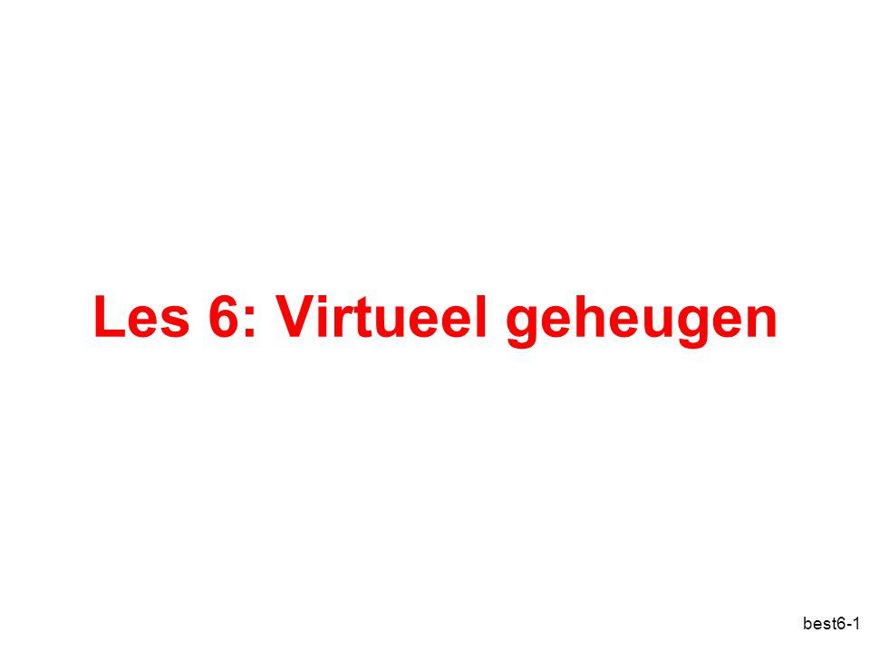 best6-1 Les 6: Virtueel geheugen
